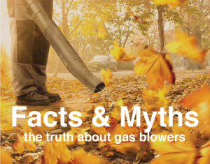 the truth about the dangers of gas leaf blowers