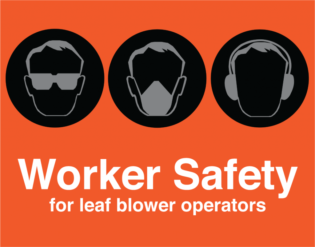 leaf blower worker safety